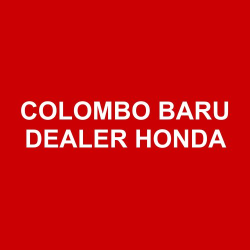 Colombo Baru Dealer Honda