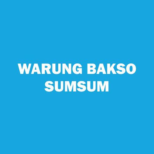 WARUNG BAKSO SUMSUM